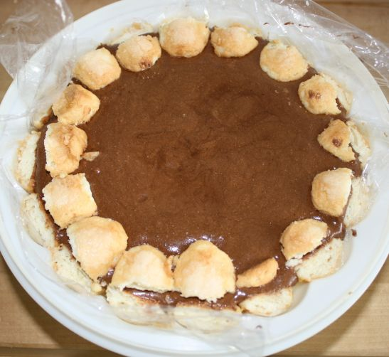 Charlotte au chocolat l g re et facile at les gourmandises de titenoon - Charlotte au chocolat facile ...